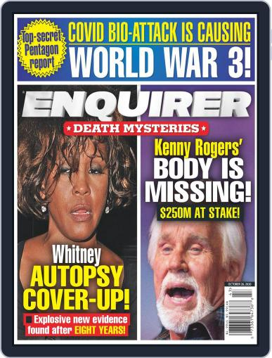National Enquirer Magazine (Digital) October 26th, 2020 Issue Cover
