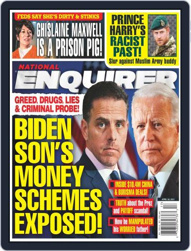 National Enquirer Magazine (Digital) April 26th, 2021 Issue Cover