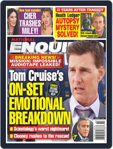 National Enquirer Magazine (Digital) January 11th, 2021 Issue Cover