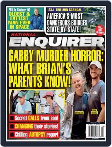 National Enquirer Magazine (Digital) November 1st, 2021 Issue Cover