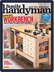 Family Handyman Magazine (Digital) Subscription April 1st, 2021 Issue