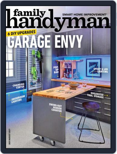 Family Handyman Magazine (Digital) July 1st, 2021 Issue Cover