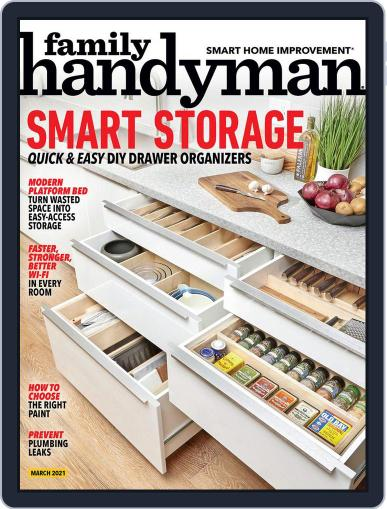 Family Handyman Magazine (Digital) March 1st, 2021 Issue Cover
