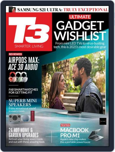 T3 Magazine (Digital) March 1st, 2021 Issue Cover