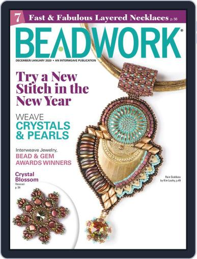 Beadwork Magazine (Digital) December 1st, 2020 Issue Cover