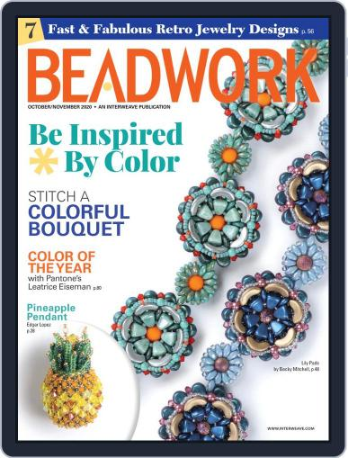 Beadwork Magazine (Digital) October 1st, 2020 Issue Cover