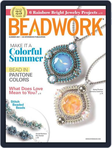 Beadwork Magazine (Digital) April 22nd, 2021 Issue Cover