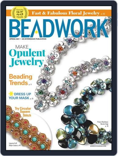 Beadwork Magazine (Digital) March 1st, 2021 Issue Cover