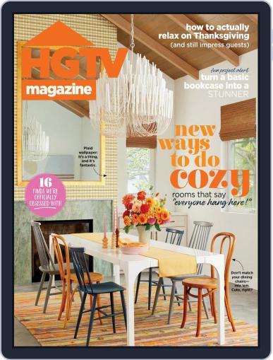 Hgtv Magazine (Digital) November 1st, 2021 Issue Cover