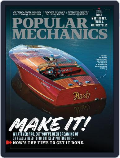 Popular Mechanics Magazine (Digital) September 1st, 2020 Issue Cover