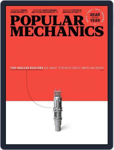 Popular Mechanics Magazine (Digital) January 1st, 2021 Issue Cover