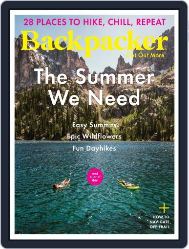 Backpacker May 1st, 2021 Digital Back Issue Cover