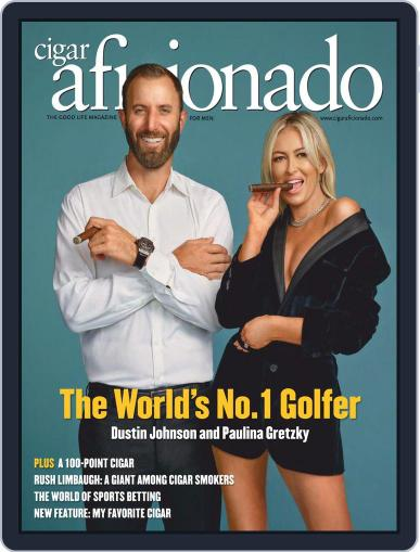 Cigar Aficionado Magazine (Digital) March 1st, 2021 Issue Cover