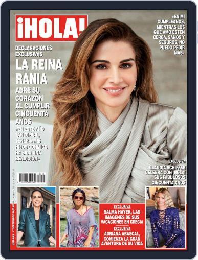 ¡Hola! Mexico Magazine (Digital) September 17th, 2020 Issue Cover