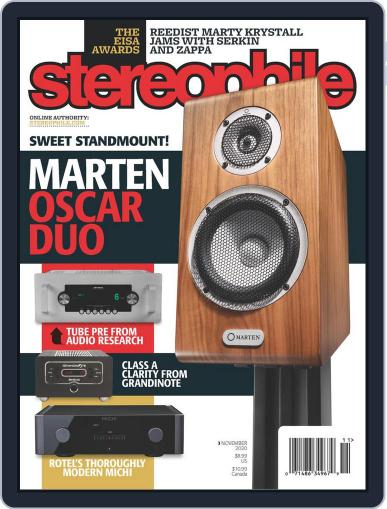 Stereophile Magazine (Digital) November 1st, 2020 Issue Cover