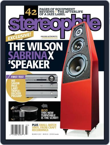 Stereophile Magazine (Digital) March 1st, 2021 Issue Cover