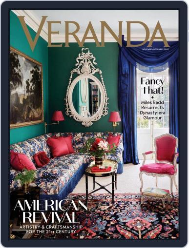 Veranda Magazine (Digital) November 1st, 2020 Issue Cover
