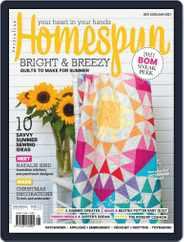 Australian Homespun Magazine (Digital) Subscription December 1st, 2020 Issue