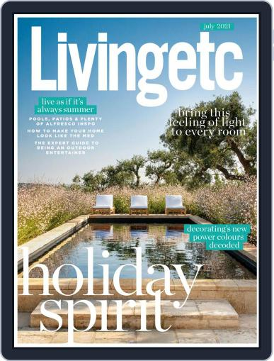 Living Etc Magazine (Digital) July 1st, 2021 Issue Cover