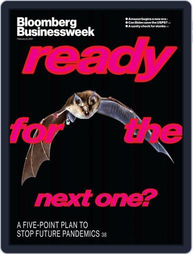 Bloomberg Businessweek Magazine (Digital) February 8th, 2021 Issue Cover