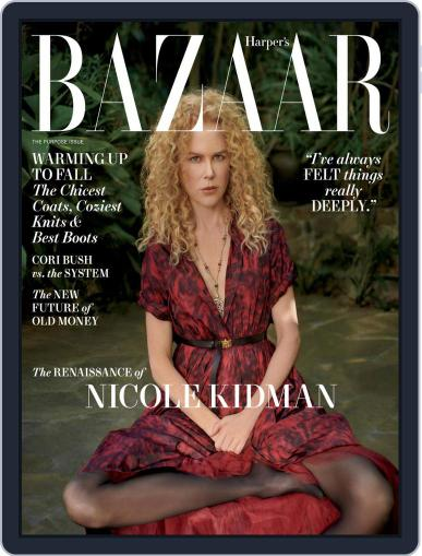 Harper's Bazaar Magazine (Digital) October 1st, 2021 Issue Cover