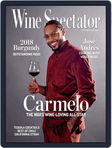 Wine Spectator Magazine (Digital) May 31st, 2021 Issue Cover