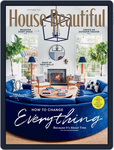 House Beautiful Magazine (Digital) September 1st, 2020 Issue Cover