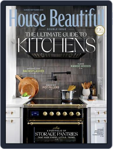 House Beautiful Magazine (Digital) August 1st, 2021 Issue Cover