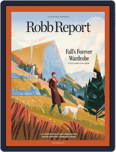Robb Report Magazine (Digital) September 1st, 2020 Issue Cover