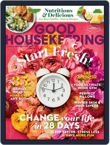 Good Housekeeping Magazine (Digital) January 1st, 2021 Issue Cover