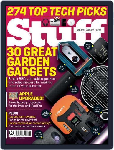 Stuff UK Magazine (Digital) June 1st, 2021 Issue Cover