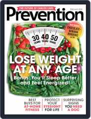 Prevention Magazine (Digital) Subscription February 1st, 2021 Issue