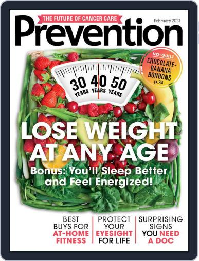 Prevention Magazine (Digital) February 1st, 2021 Issue Cover