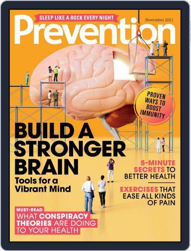 Prevention Magazine (Digital) November 1st, 2021 Issue Cover