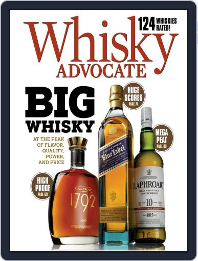 Whisky Advocate Magazine (Digital) September 30th, 2020 Issue Cover