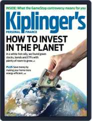 Kiplinger's Personal Finance Magazine (Digital) Subscription April 1st, 2021 Issue