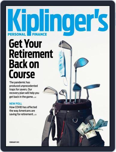 Kiplinger's Personal Finance Magazine (Digital) February 1st, 2021 Issue Cover