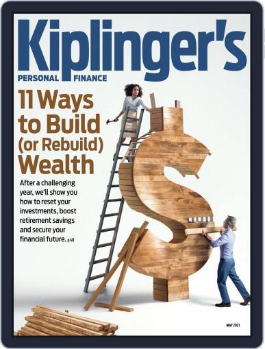 Kiplinger's Personal Finance Magazine (Digital) May 1st, 2021 Issue Cover