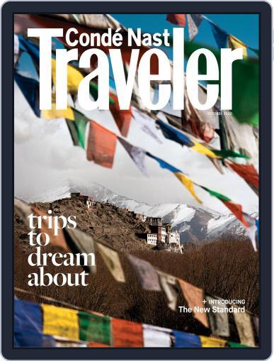 Conde Nast Traveler Magazine (Digital) October 1st, 2020 Issue Cover