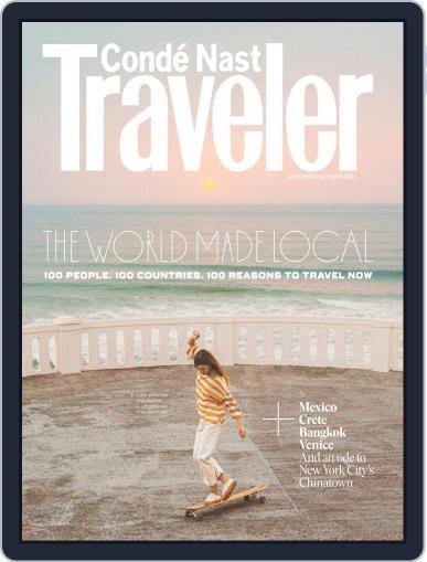 Conde Nast Traveler Magazine (Digital) September 1st, 2021 Issue Cover