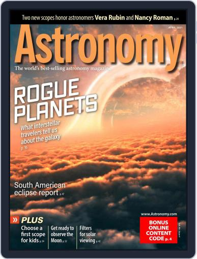 Astronomy Magazine (Digital) April 1st, 2021 Issue Cover