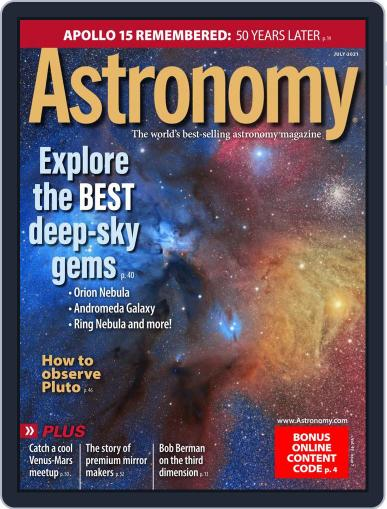 Astronomy Magazine (Digital) July 1st, 2021 Issue Cover