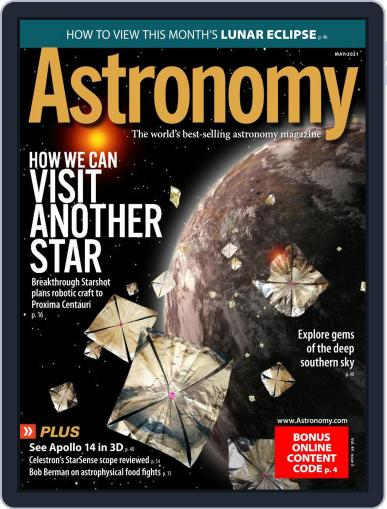 Astronomy Magazine (Digital) May 1st, 2021 Issue Cover