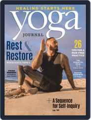 Yoga Journal Magazine (Digital) Subscription September 1st, 2020 Issue