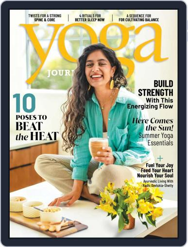 Yoga Journal July 1st, 2021 Digital Back Issue Cover
