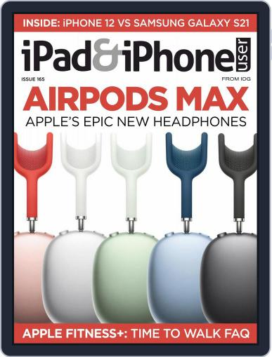 iPad & iPhone User Magazine (Digital) April 1st, 2021 Issue Cover