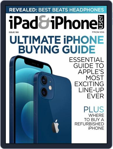 iPad & iPhone User Magazine (Digital) March 1st, 2021 Issue Cover