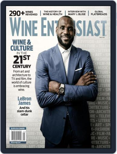Wine Enthusiast Magazine (Digital) May 1st, 2021 Issue Cover