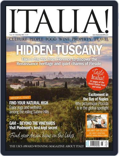 Italia Magazine (Digital) June 1st, 2021 Issue Cover