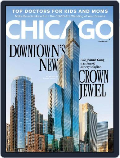 Chicago Magazine (Digital) February 1st, 2021 Issue Cover